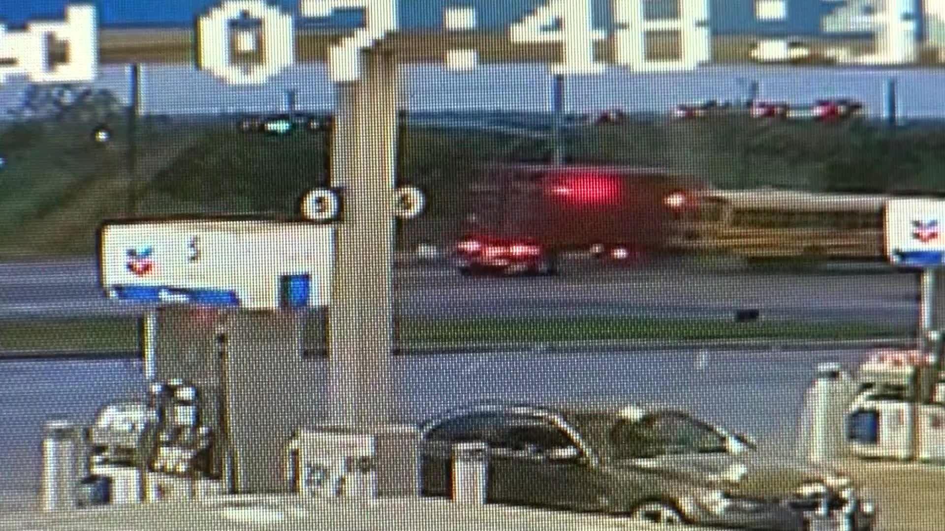 Terrifying video: Semi truck slams into school bus in Texas