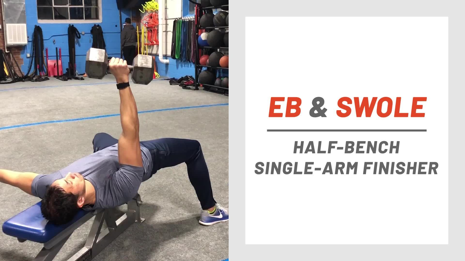 This Bench Press Balancing Act Will Blow Up Your Chest and Core