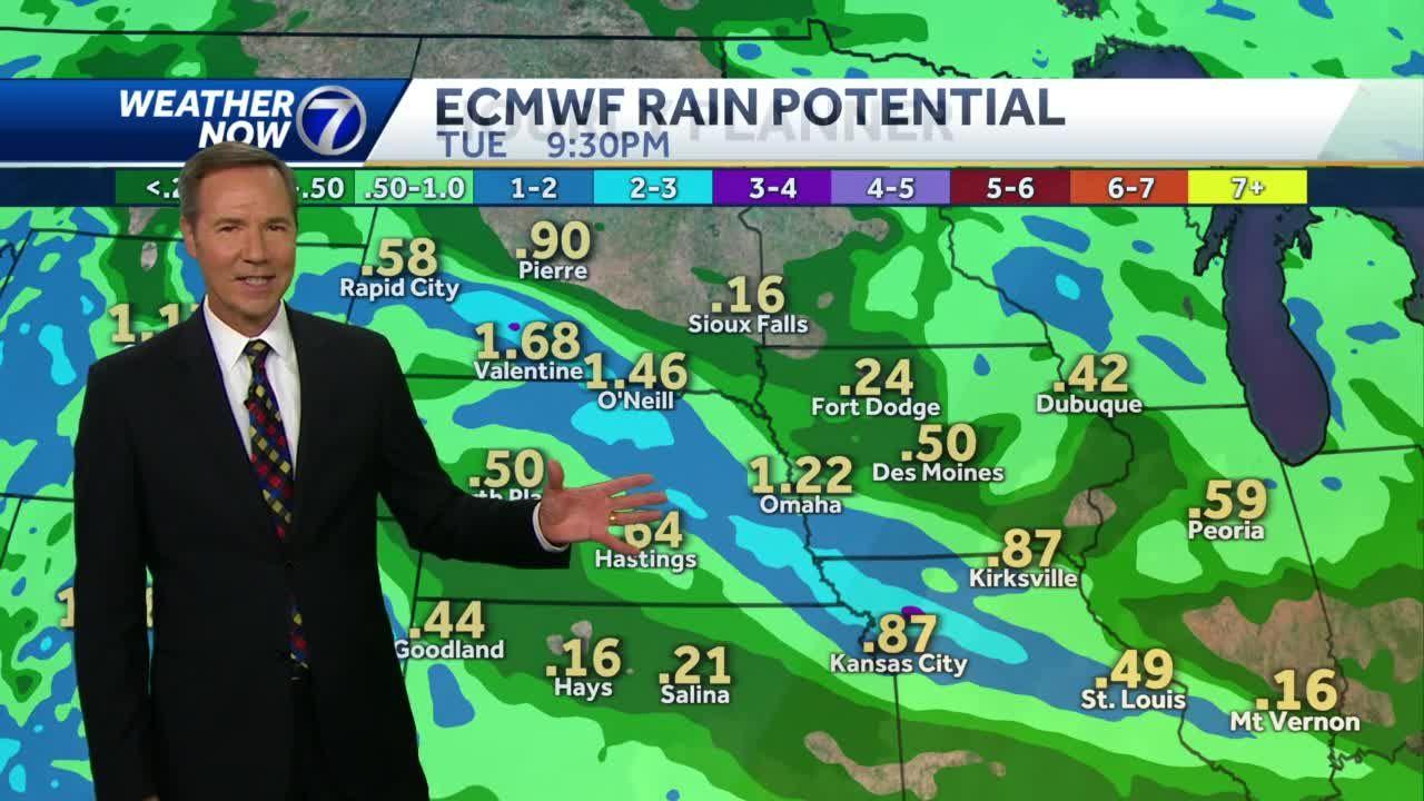 Rain later this week