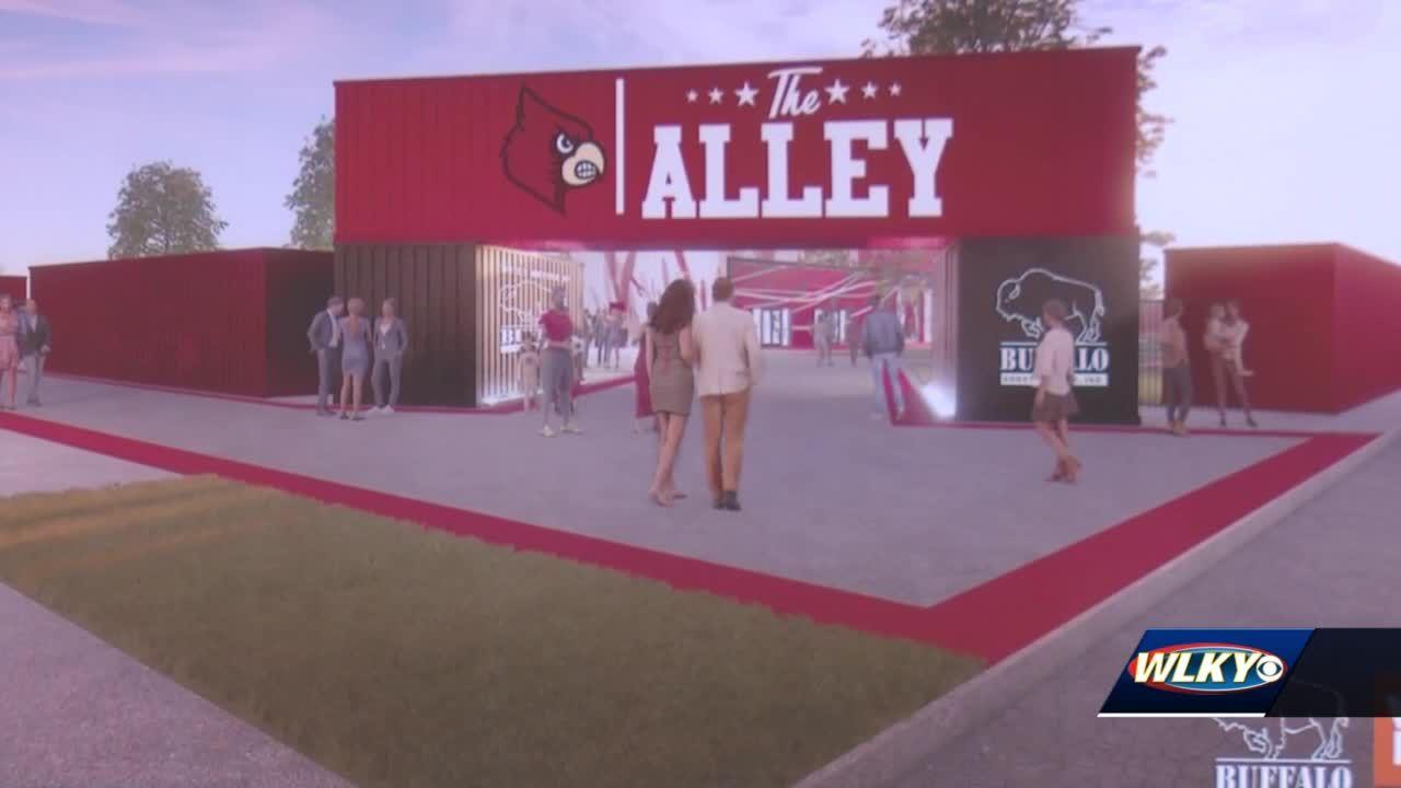 University of Louisville adding new tailgating spot to Cardinal Stadium