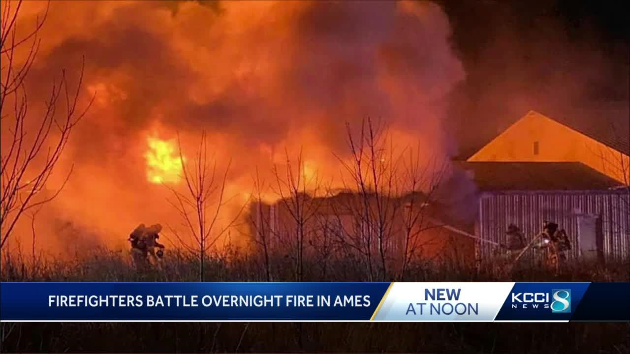 Ames warehouse sustains $7,000 in damage during morning fire