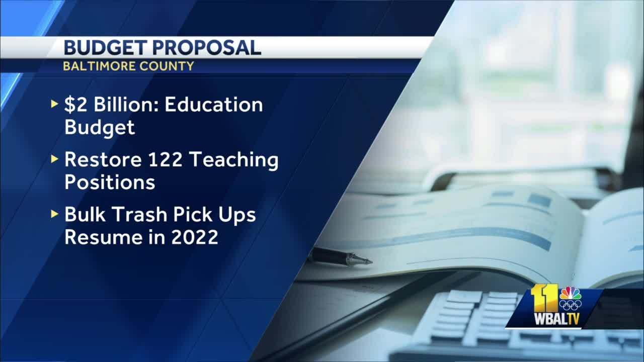 $4.2B budget provides 'record education funding' in Baltimore County