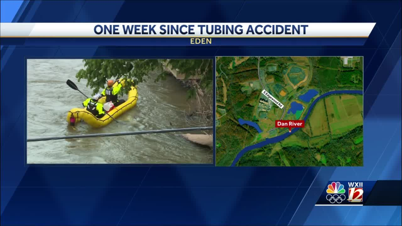 Dan River tubers clung for their lives, watching as family members fell over dam during accident