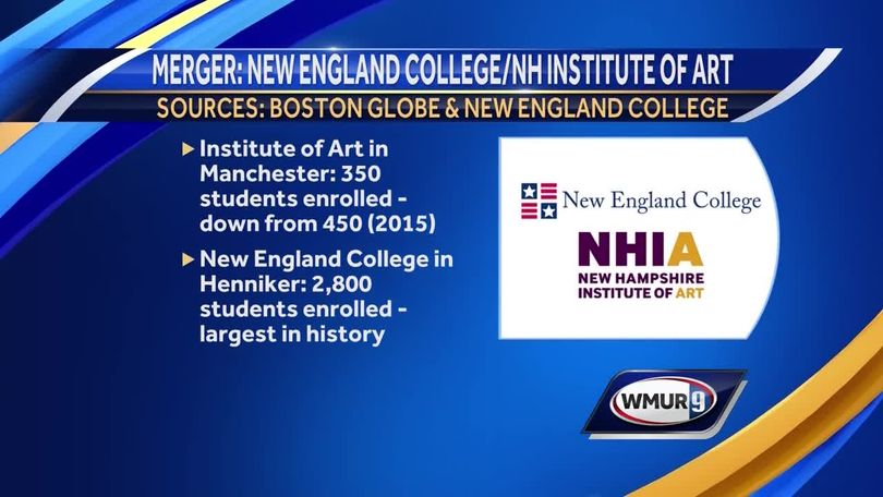 Merger of two NH colleges amid small college enrollment declines