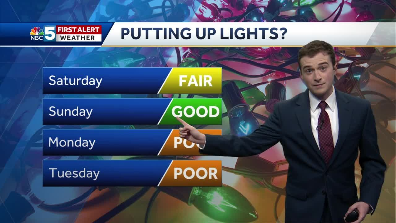 Video: Dreary Saturday, bright Sunday (11-28-20)