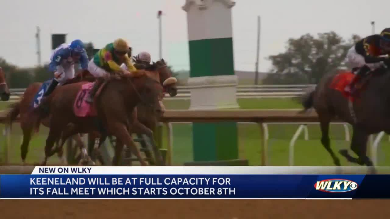 Keeneland opening up to full capacity for 2021 Fall Meet