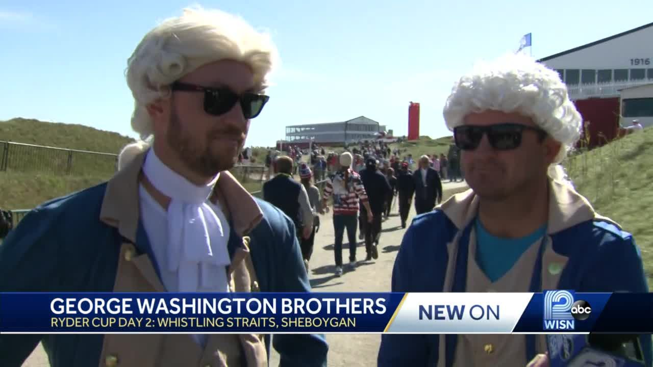 George Washington Brothers capturing attention at Ryder Cup