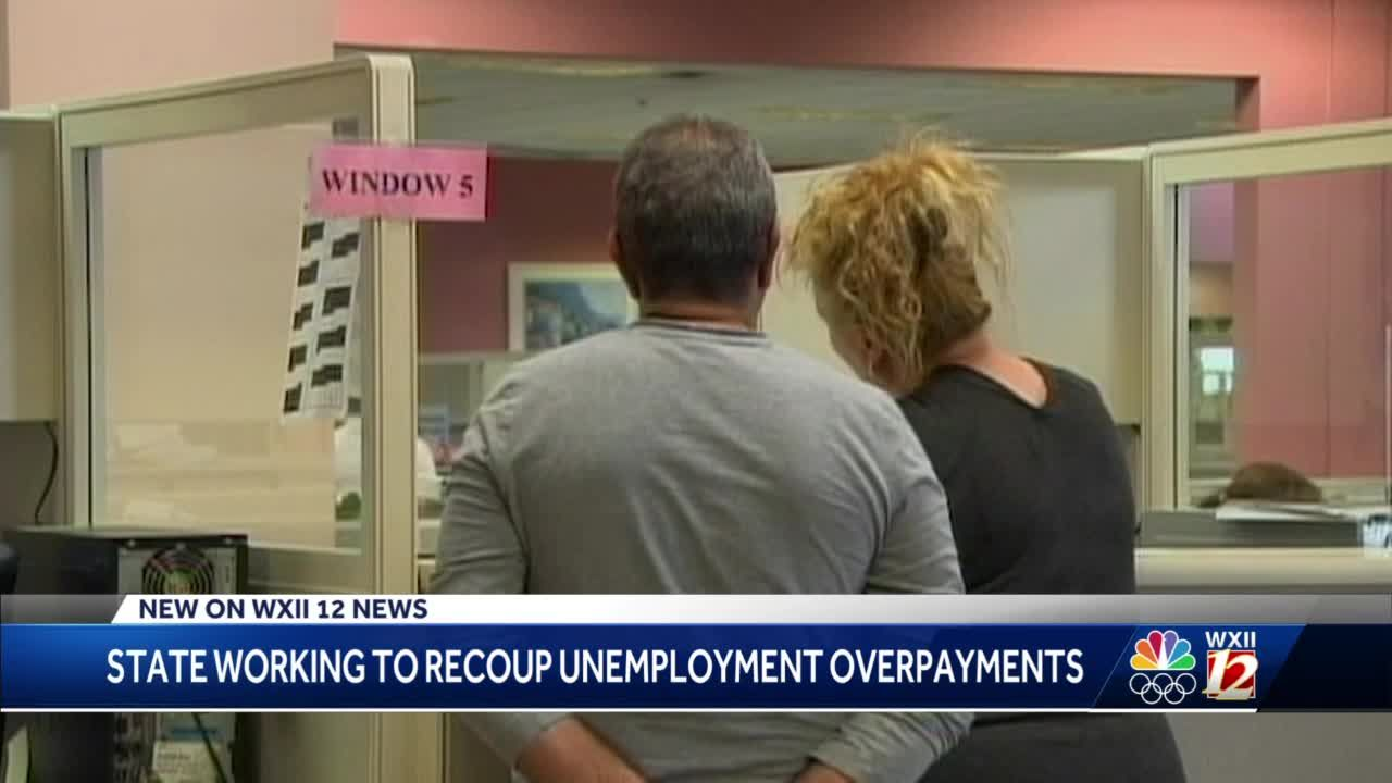 North Carolina working to get back unemployment overpayments