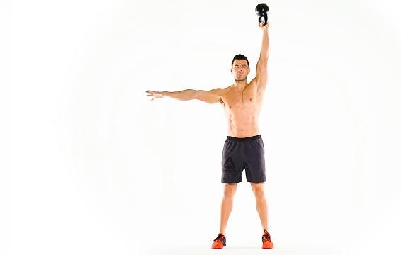 6 Kettlebell Moves That Will Melt Your Fat Away