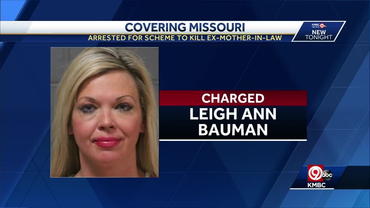 Missouri realtor charged in plan to kill ex-mother-in-law