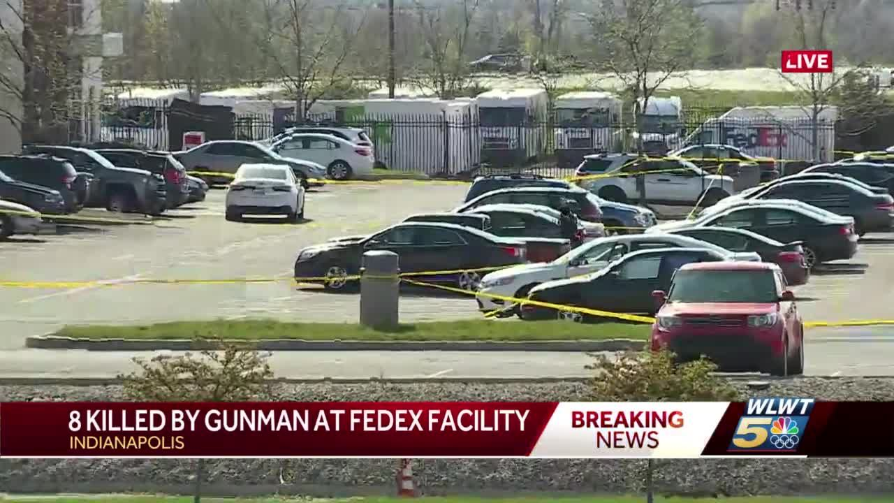 Grueling wait as police work to identify victims of FedEx mass shooting