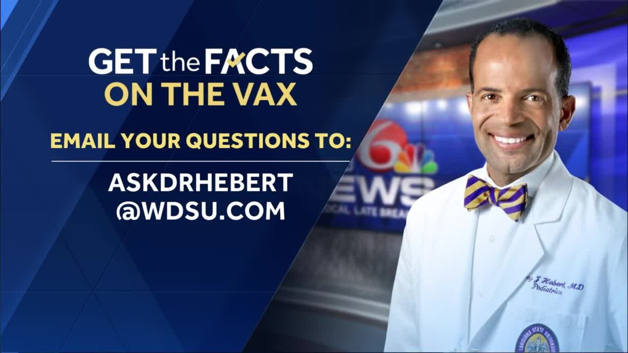 Get the Facts on the Vax: Ask Dr. Hebert: COVID-19 vaccine symptoms or menopause?