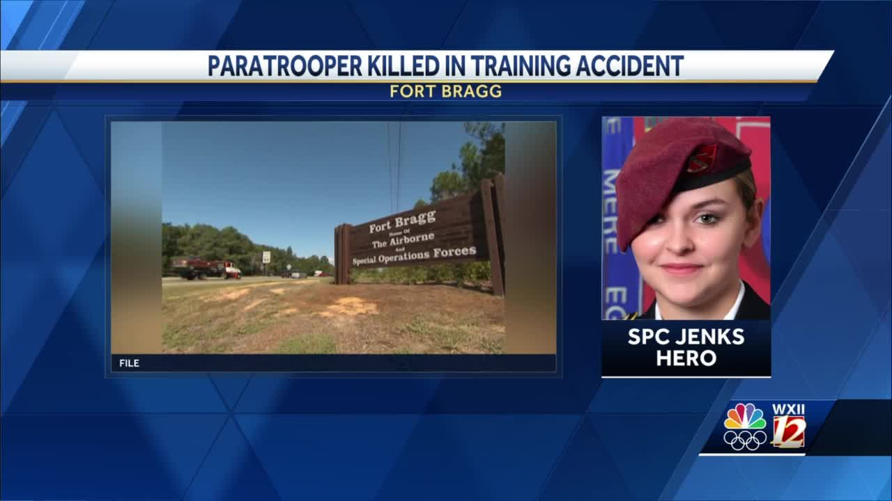 Fort Bragg identifies paratrooper who died in airborne training accident