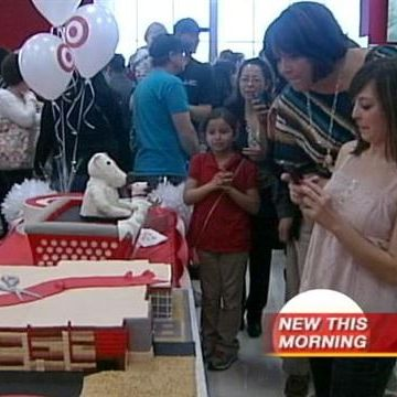 New Uptown Target Opens Today