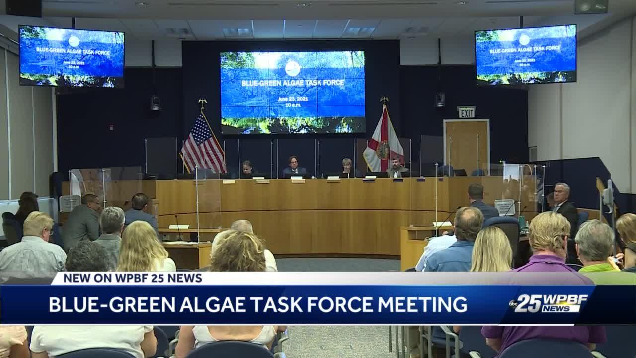 Blue-green algae task force meeting