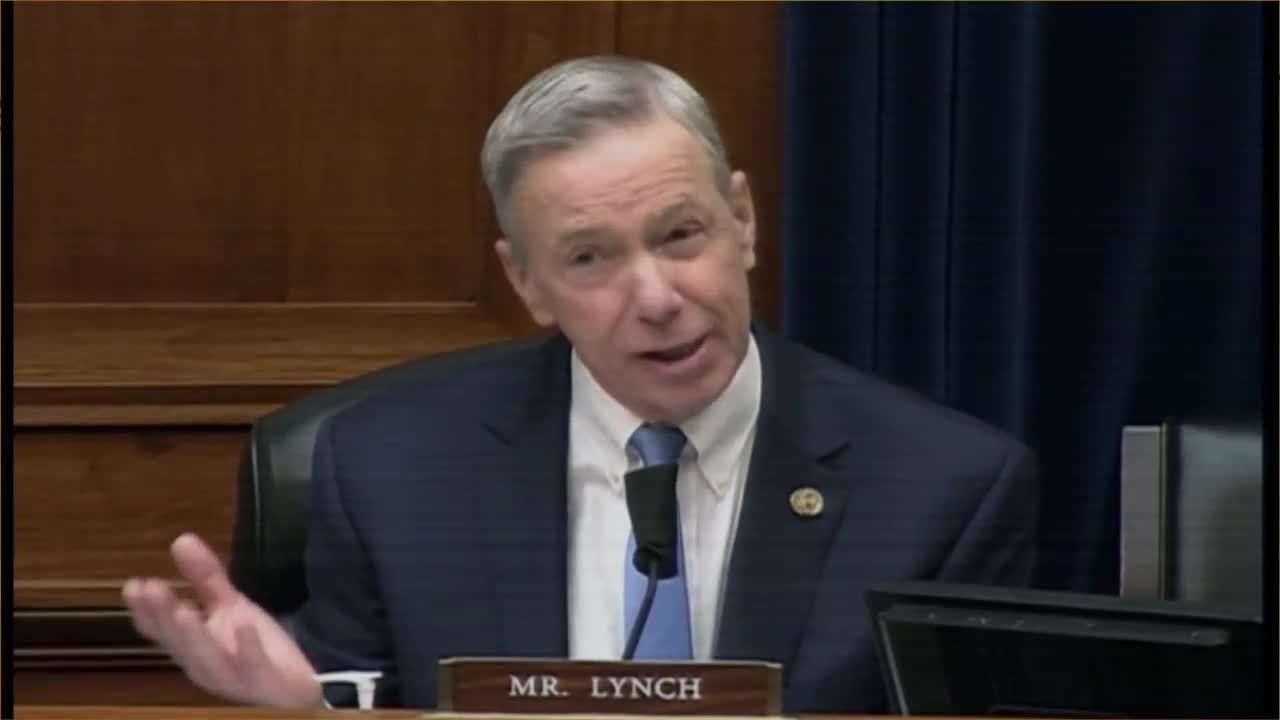 OTR: Congressman Stephen Lynch takes it up a notch during hearing on Capitol insurrection