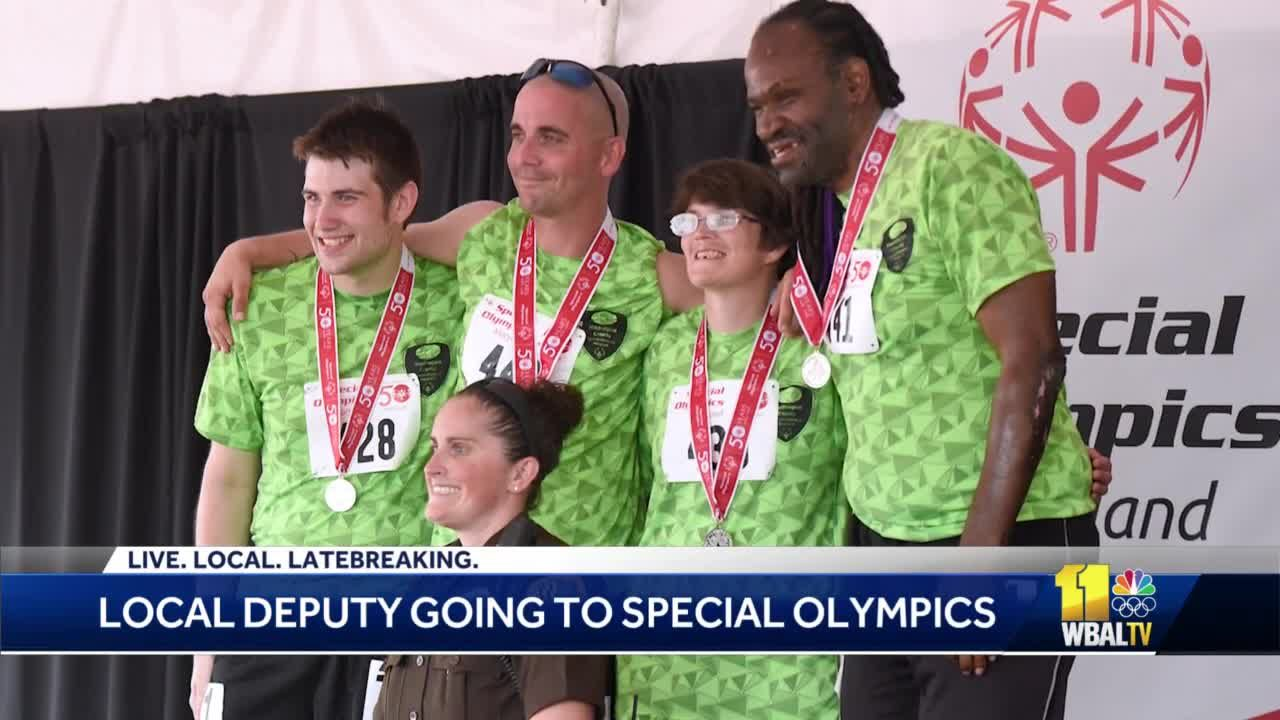 Frederick deputy heading to Russia for World Special Olympics