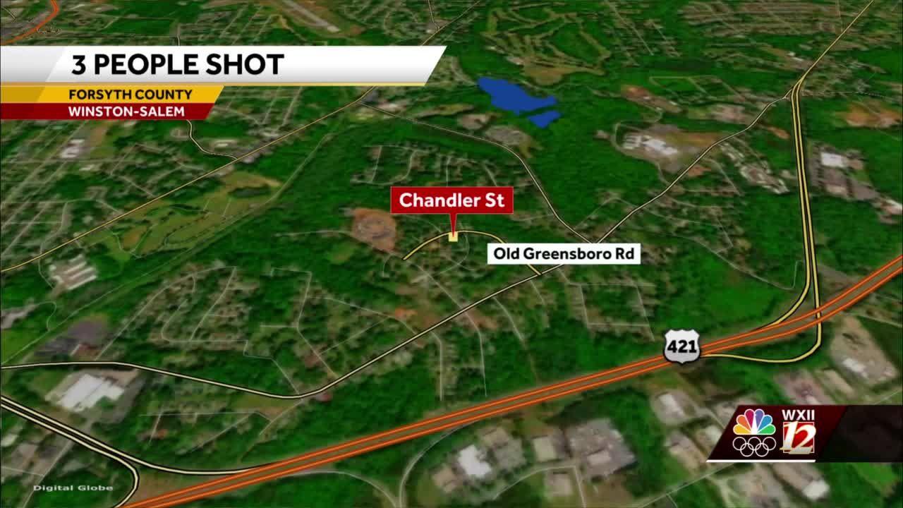 Winston-Salem police investigate shooting that injured three people