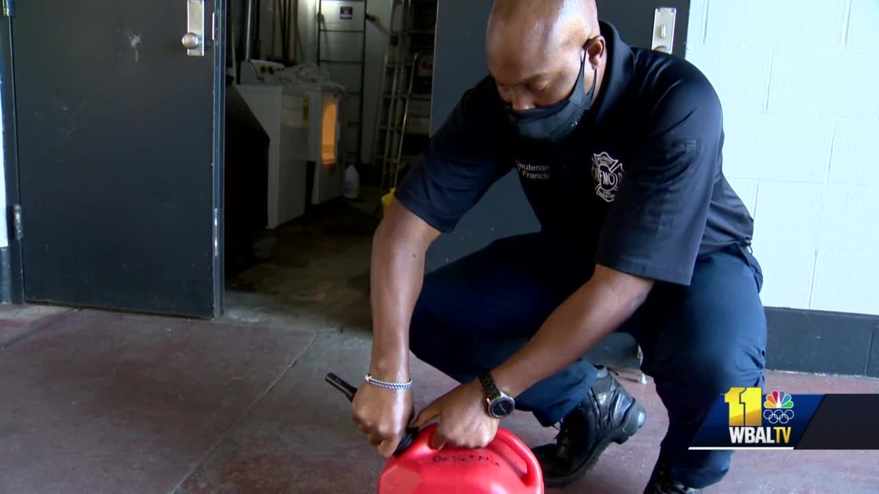 Local fire officials offer tips on properly storing gas containers