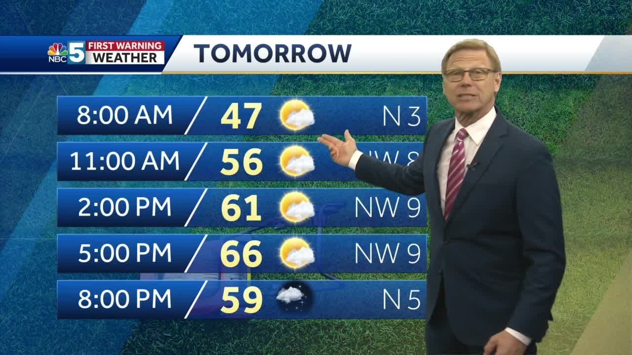 Video: Tom Messner says mild weather will stick around. 4.12.21