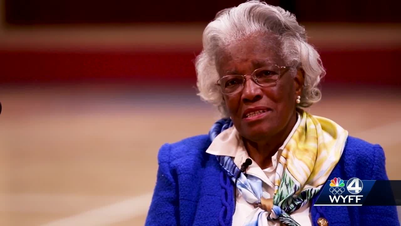 'I didn't see any Black people but me': Retired educator Pearlie Harris reflects on moving to Greenville