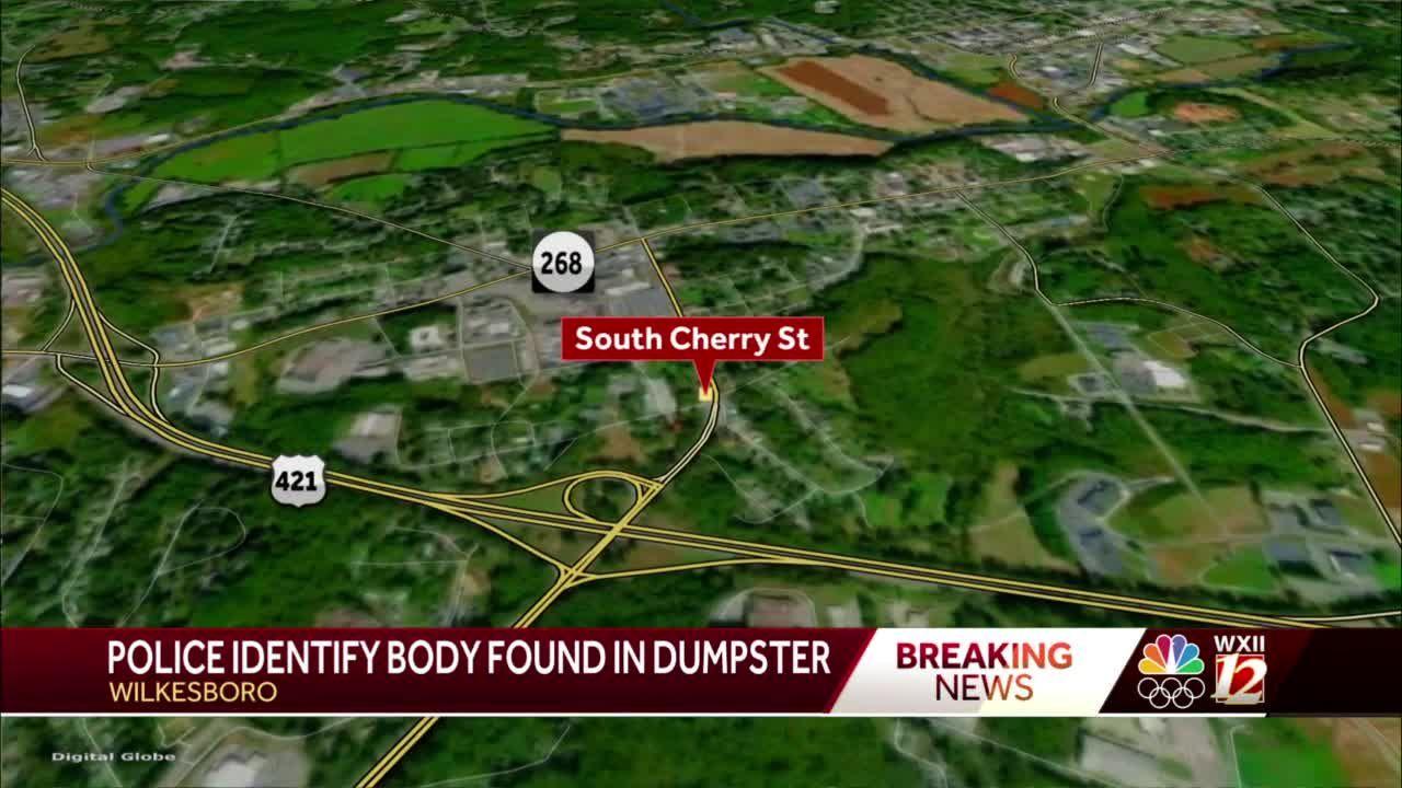 Wilkesboro police identify man found dead inside dumpster
