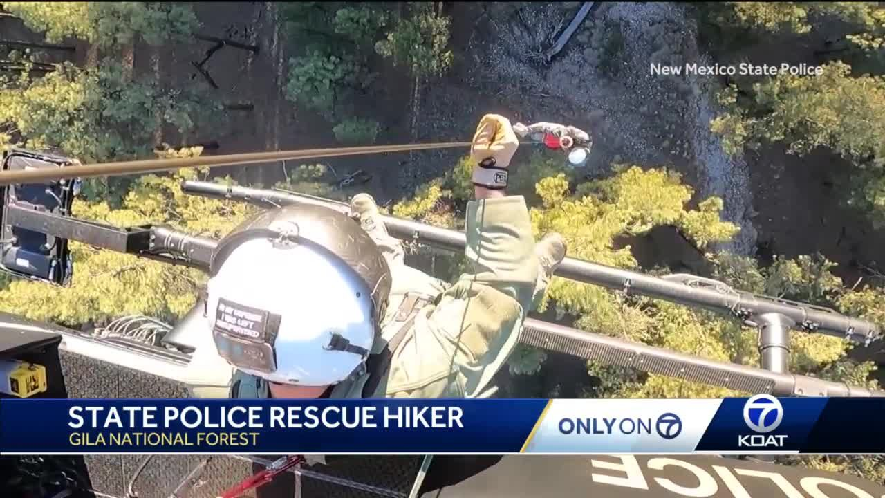 NMSP rescues hiker in Gila