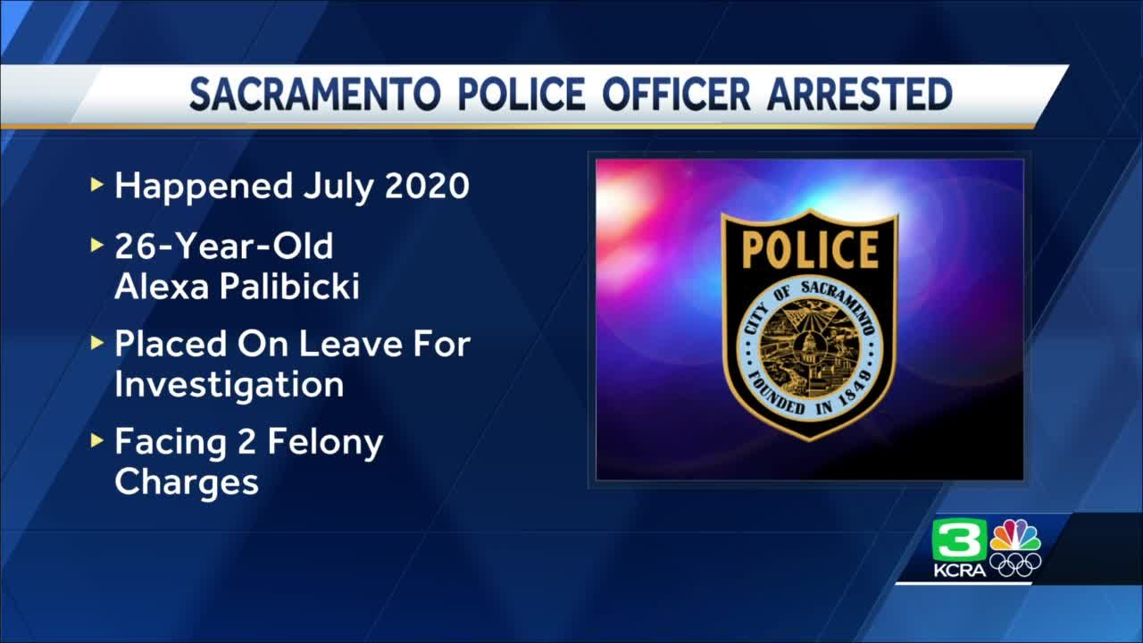 Officer arrested after filing false police report, Sacramento PD says