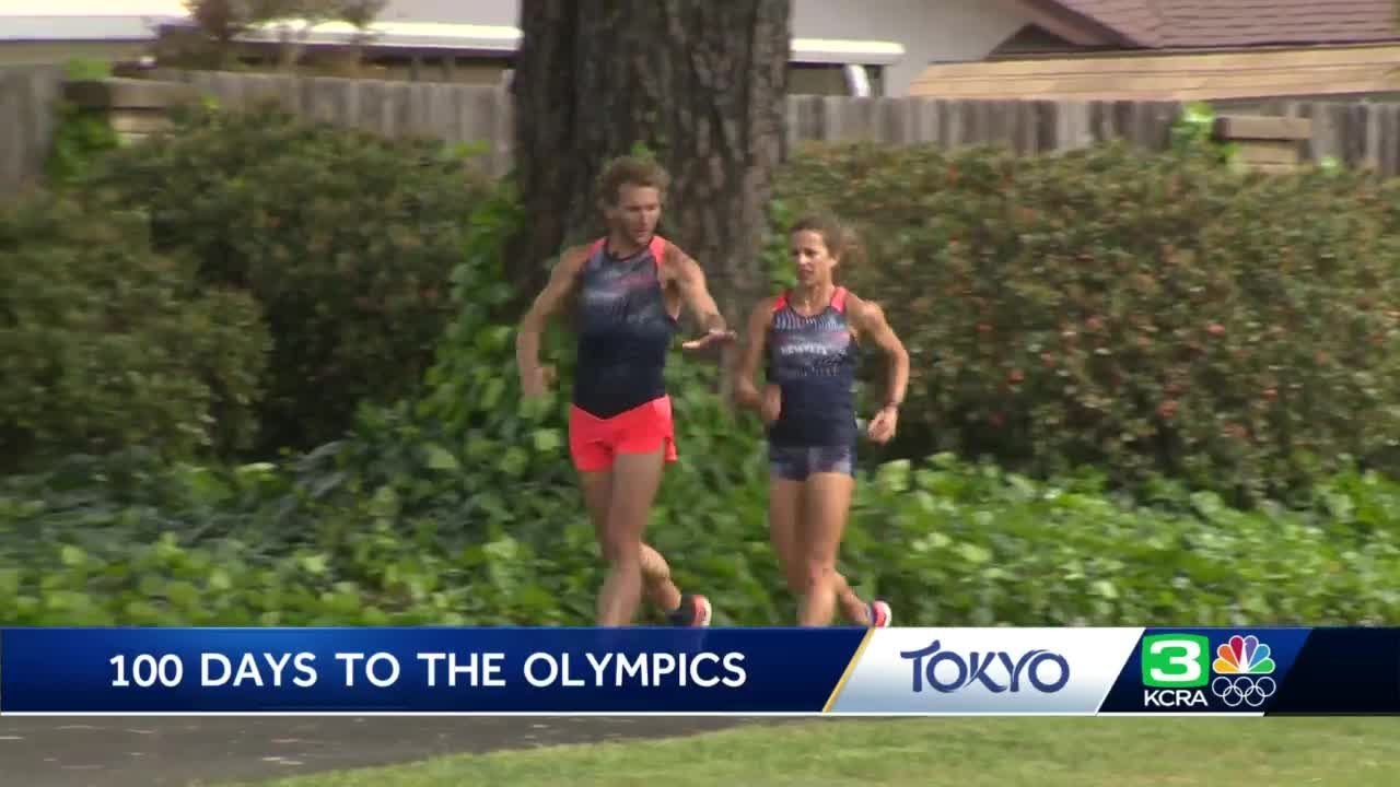 Vacaville race walkers take their training to Mojave Desert ahead of Tokyo Olympics