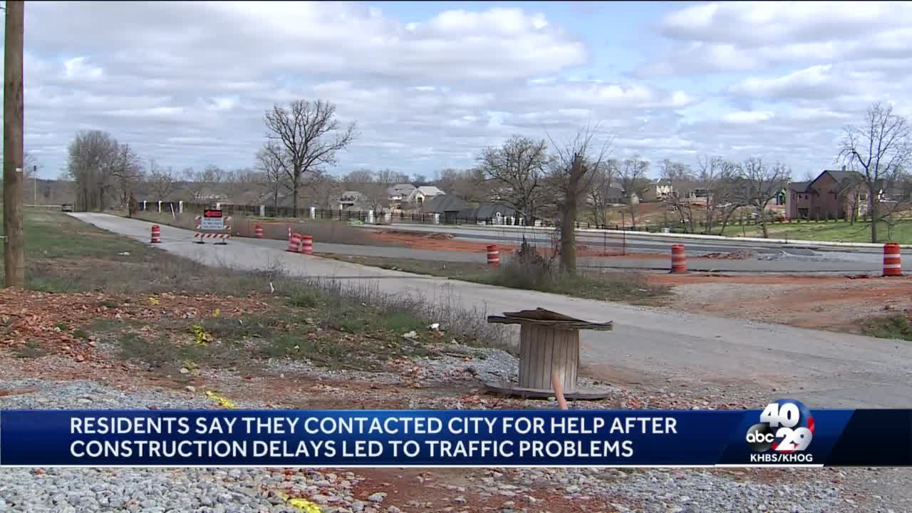 Local reaction to city or Rogers restarting work to extend Pleasant Grove road