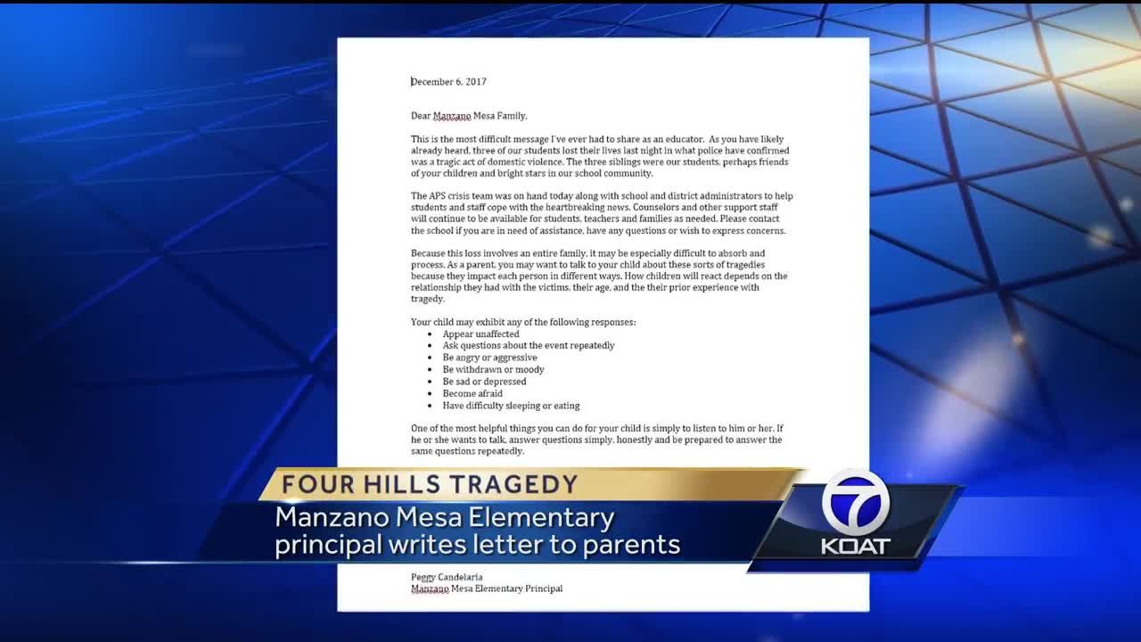 Video Principal Writes Heartfelt Letter About Shooting Victims