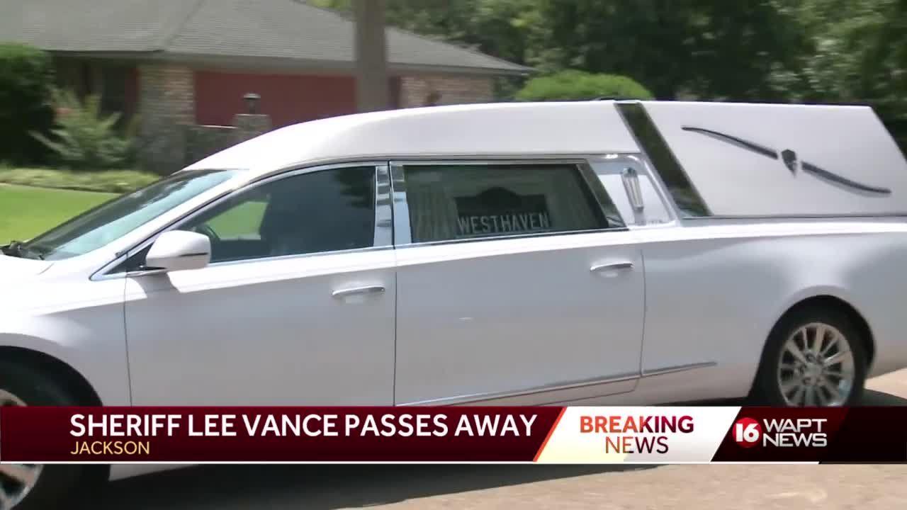 Sheriff Lee Vance Passes Away