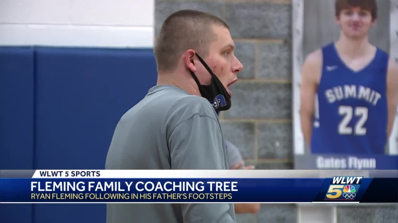 Fleming family coaching tree: Ryan Fleming following in his father's footsteps