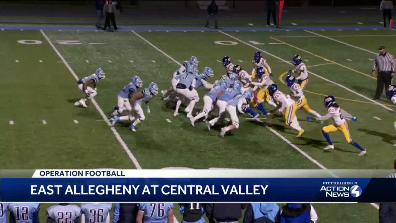 Central Valley crushes East Allegheny