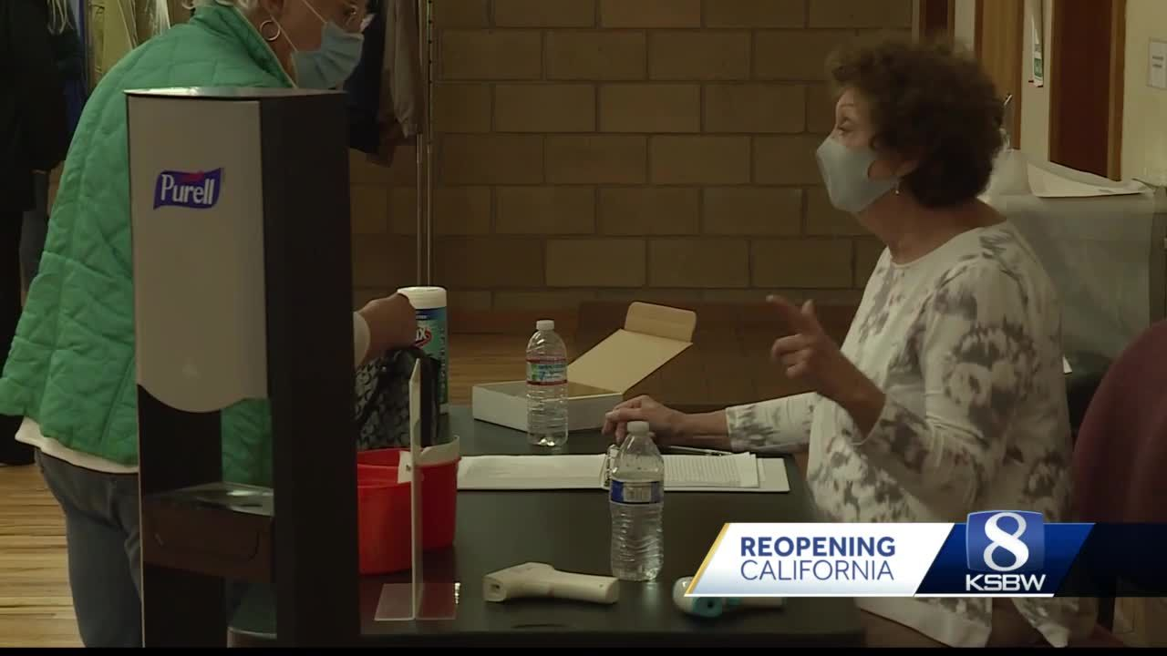Senior Center in Salinas reopens, allows seniors to return