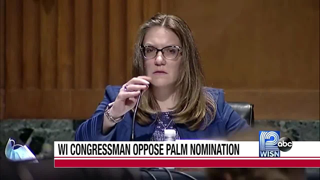 Congressmen oppose Palm nomination