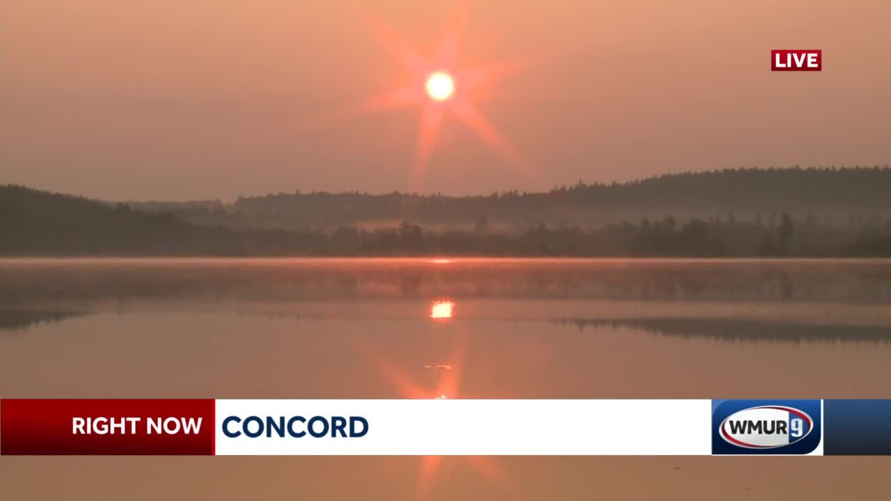 Wildfires out west and in Canada prompt air quality warning in New Hampshire