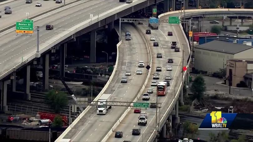 MDTA: Avoid I-895, due to bridge project, until 2021