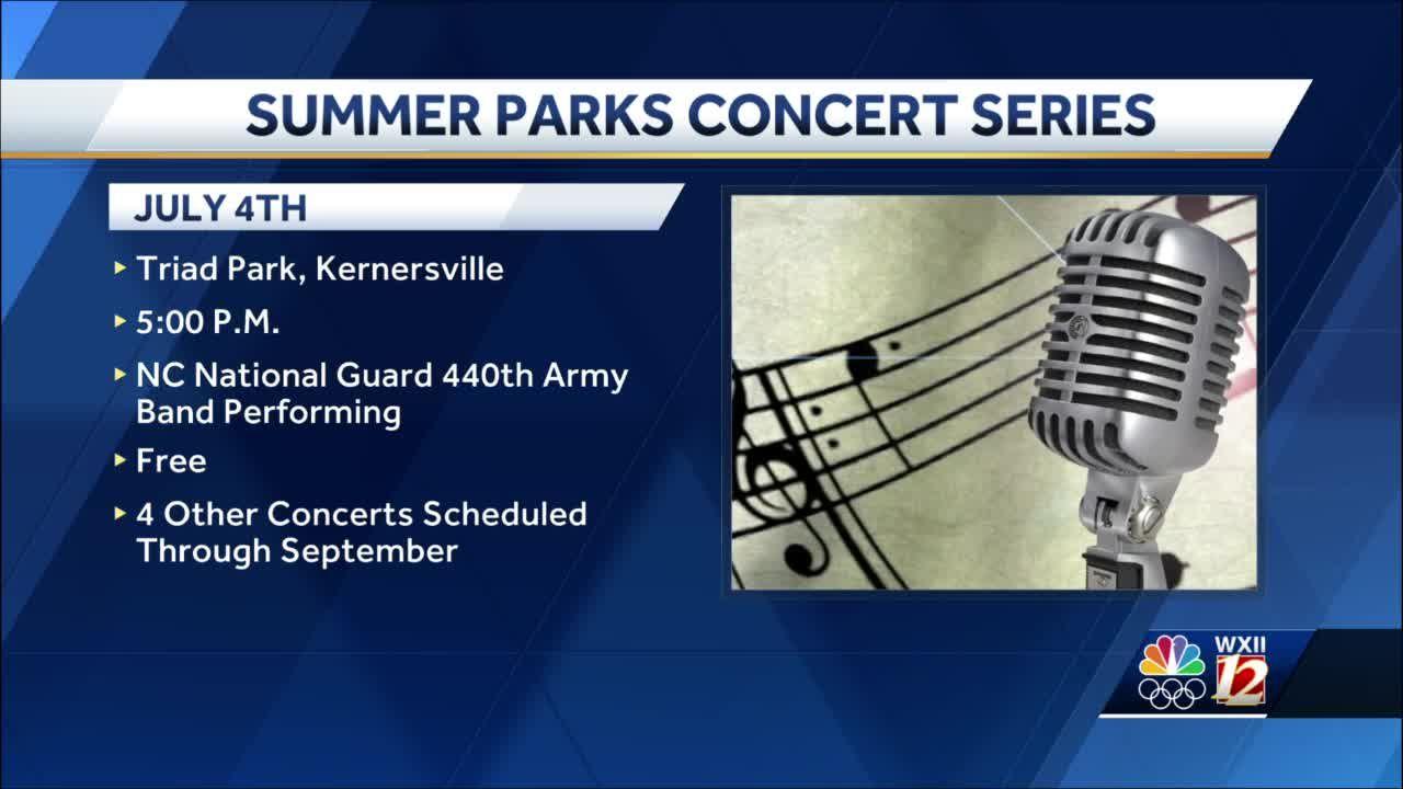 Forsyth County Summer Parks Concert Series kicks off July 4