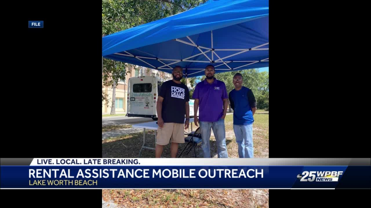 Palm Beach County mobile unit to help residents impacted by COVID-19 apply for rent and utility assistance