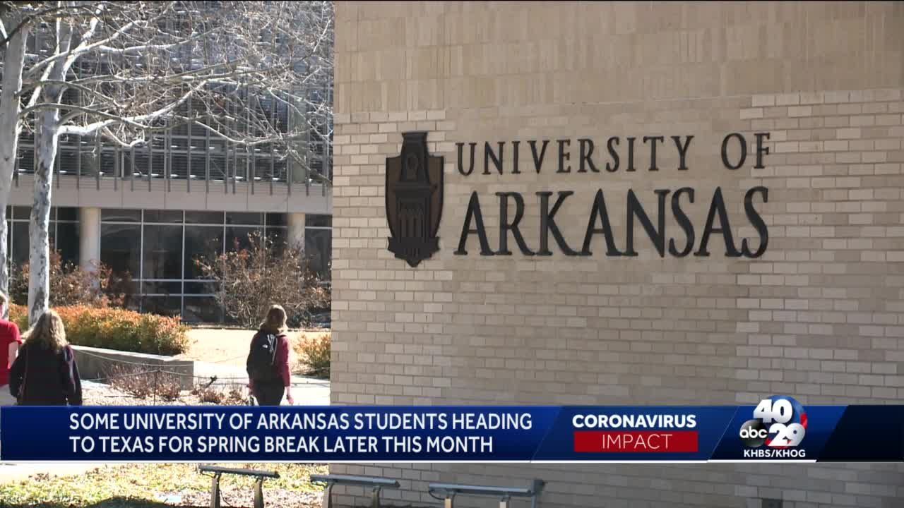 Lift on restrictions in Texas could affect University of Arkansas