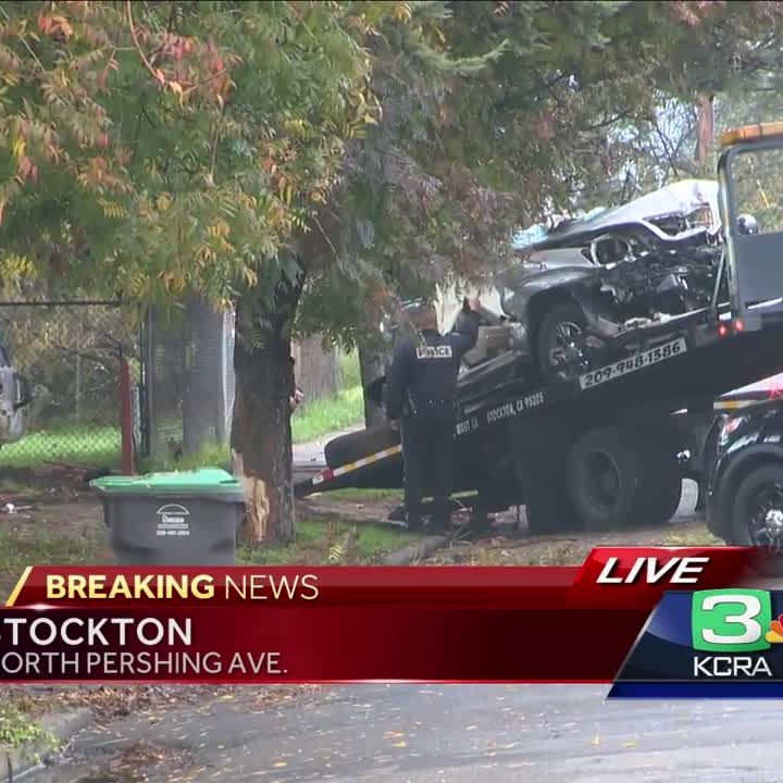 Single-vehicle crash in Stockton kills driver