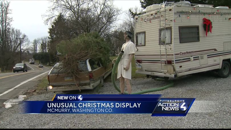 mcmurray christmas display ripped from a beloved holiday movie