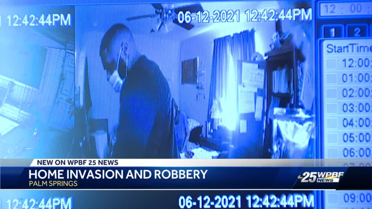 Home invasion and robbery in Palm Springs