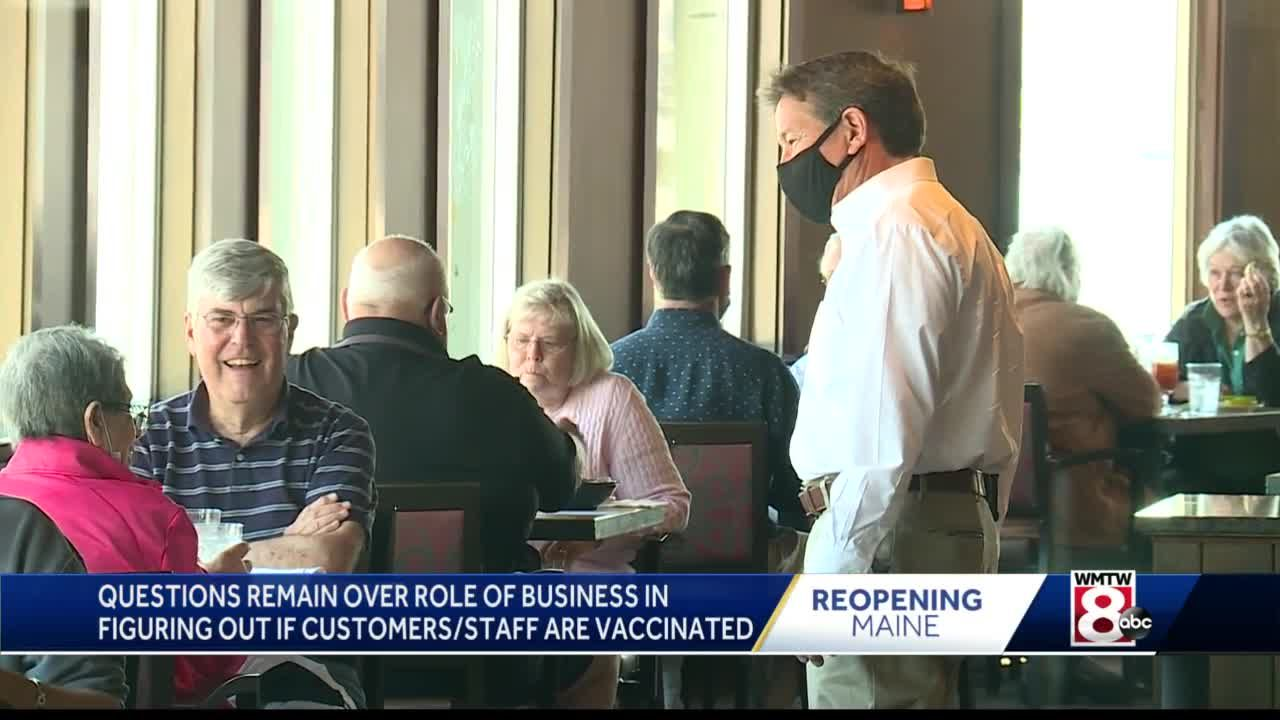 Maine businesses say questions remain ahead of state's upcoming mask changes