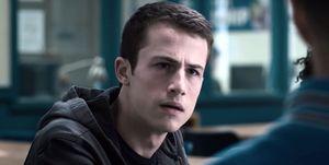 Dylan Minette as Clay Jensen in 13 Reasons Why season 3 trailer