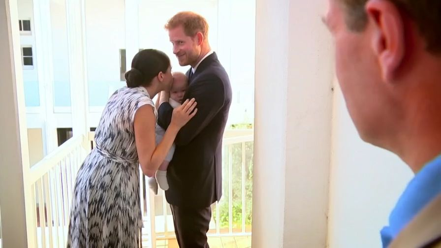 Meghan Markle Kisses Son Archie In Adorable, Previously Unseen Clip From New Africa Tour Documentary