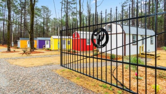 Alabama mother and two daughters open tiny homes resort