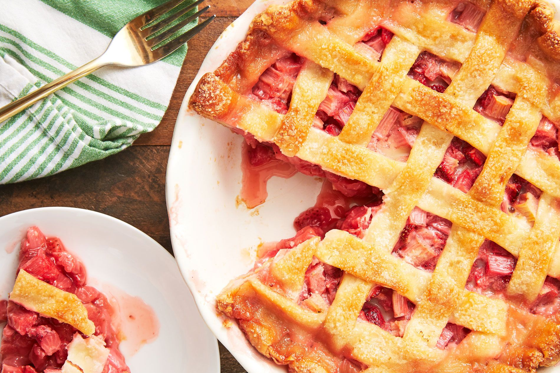 Best Strawberry Rhubarb Pie Recipe How To Make Strawberry Rhubarb Pie