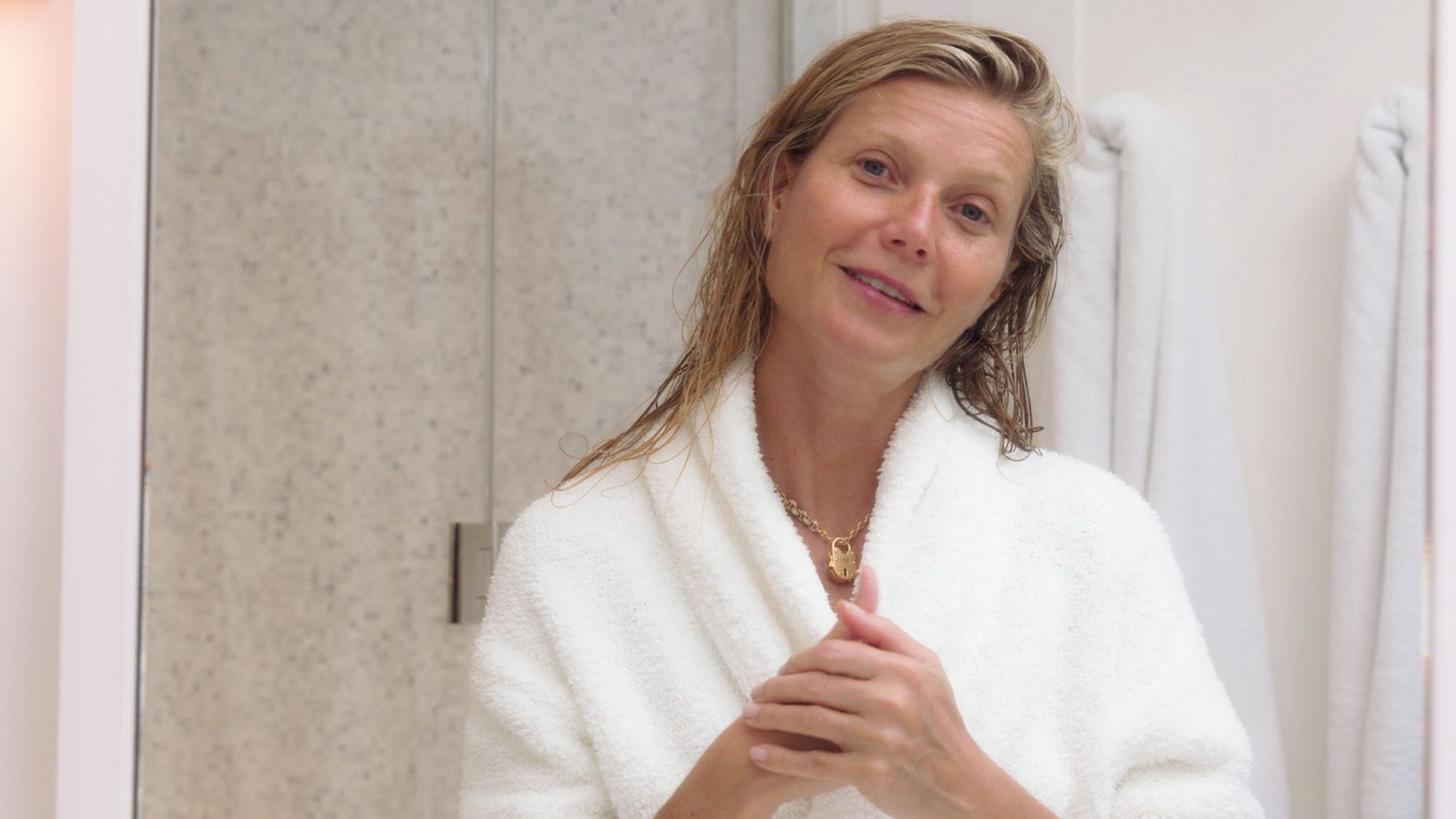 Gwyneth Paltrow Goes Makeup-Free To Show Us Her Nighttime Skin Routine